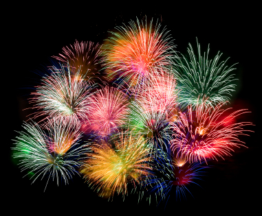 fireworks Good Bye 2013, Hello 2014