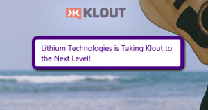 2014 05 21 2240 300x160 Lithium Technologies is Taking Klout to the Next Level